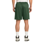 Forest Green Sport-Tek PosiCharge Classic Mesh ™ Short as seen from the back