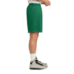 Kelly Green Sport-Tek PosiCharge Classic Mesh ™ Short as seen from the sleeveright