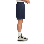 True Navy Sport-Tek PosiCharge Classic Mesh ™ Short as seen from the sleeveright