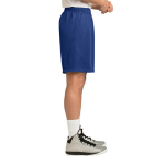 True Royal Sport-Tek PosiCharge Classic Mesh ™ Short as seen from the sleeveright