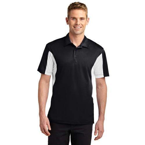 Sport-Tek Side Blocked Micropique Sport-Wick Polo - Embroidered