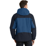 Regatta Bl Nvy Port Authority Tall Nootka Jacket as seen from the back