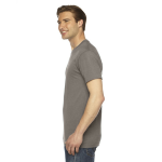 Tri Coffee MADE IN USA Unisex Triblend Short-Sleeve Track T-Shirt as seen from the sleeveright