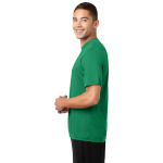 Kelly Green Sport-Tek Tall Competitor Tee as seen from the sleeveleft