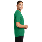 Kelly Green Sport-Tek Tall Competitor Tee as seen from the sleeveright