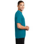 Tropic Blue Sport-Tek Tall Competitor Tee as seen from the sleeveright