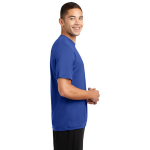 True Royal Sport-Tek Tall Competitor Tee as seen from the sleeveright