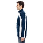 Sport Dark Navy Men's Squad Jacket as seen from the sleeveright