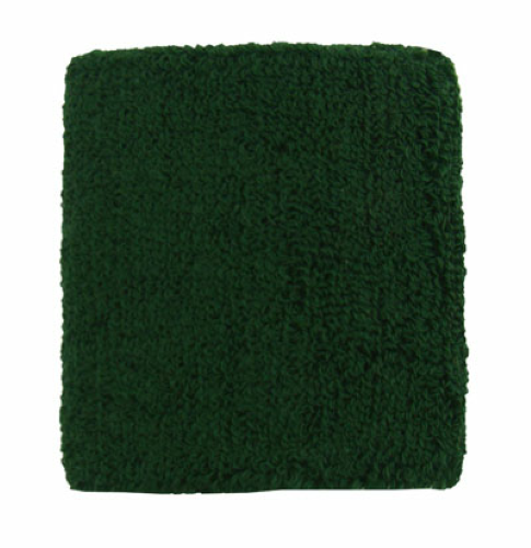 Dark Green Wristbands as seen from the front
