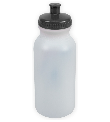 Frost/black The Omni - 20 oz. Bike Bottles as seen from the front