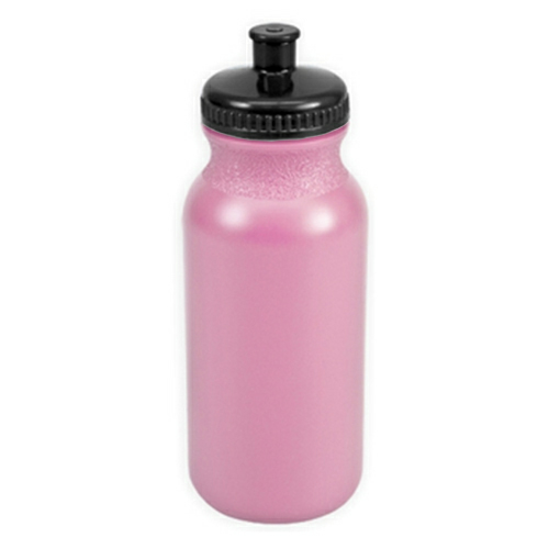 Awareness Pink/black The Omni - 20 oz. Bike Bottle Colors as seen from the front