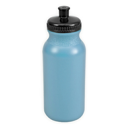 Light Blue/black The Omni - 20 oz. Bike Bottle Colors as seen from the front