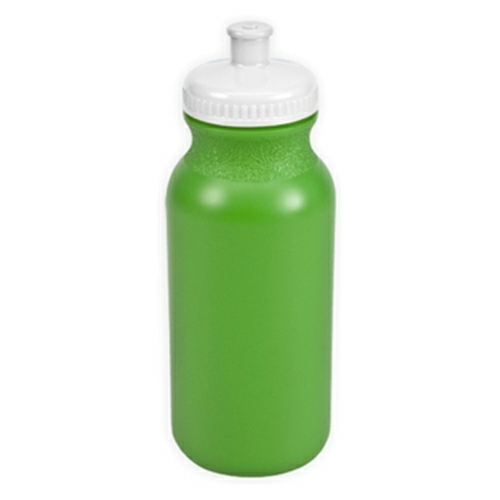 Neon Green/white The Omni - 20 oz. Bike Bottle Colors as seen from the front