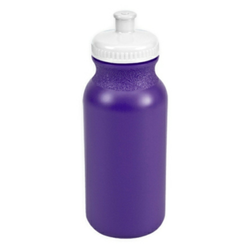 Violet/white The Omni - 20 oz. Bike Bottle Colors as seen from the front