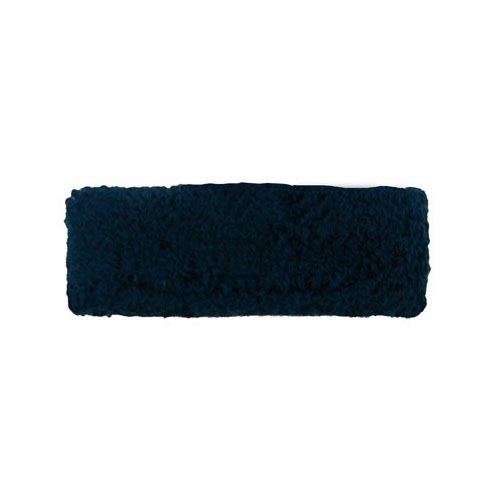 Navy Mini Wristbands as seen from the front