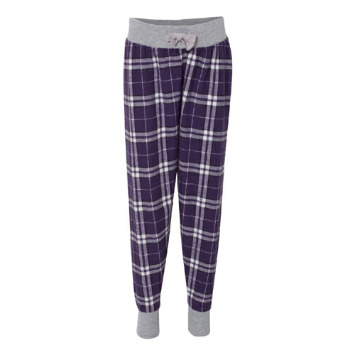 Youth Flannel Tailgate Jogger - Embroidered