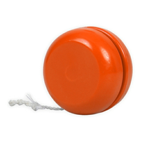 Orange Classic Yo-Yo - Made in USA as seen from the front