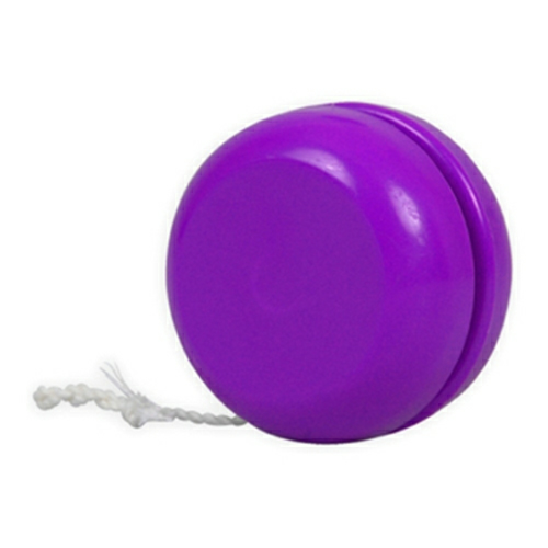 Violet Classic Yo-Yo - Made in USA as seen from the front