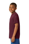 Cardinal Sport-Tek Youth Competitor Tee as seen from the sleeveleft