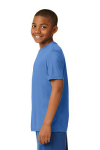 Carolina Blue Sport-Tek Youth Competitor Tee as seen from the sleeveleft
