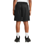 Black Sport-Tek Youth PosiCharge Classic Mesh ™ Short as seen from the back