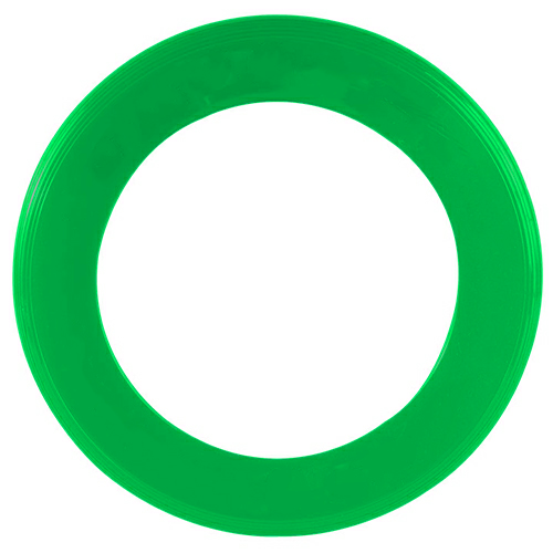 Green Zing Ring Flyer as seen from the front