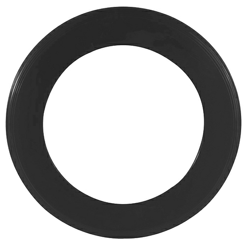 Recycled Black Zing Ring Flyer as seen from the front