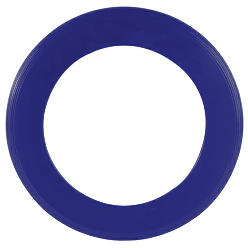 Recycled Eco Navy Blue Zing Ring Flyer as seen from the front