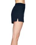 Navy Juniors' Jersey-Knit Cheer Short as seen from the sleeveleft