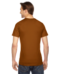 Camel MADE IN USA Unisex Fine Jersey Short Sleeve T-Shirt as seen from the back
