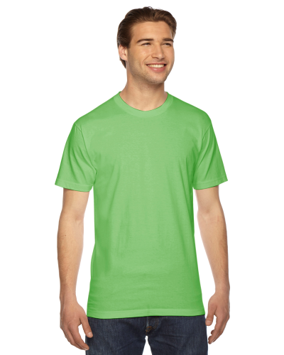 Grass MADE IN USA Unisex Fine Jersey Short Sleeve T-Shirt as seen from the front