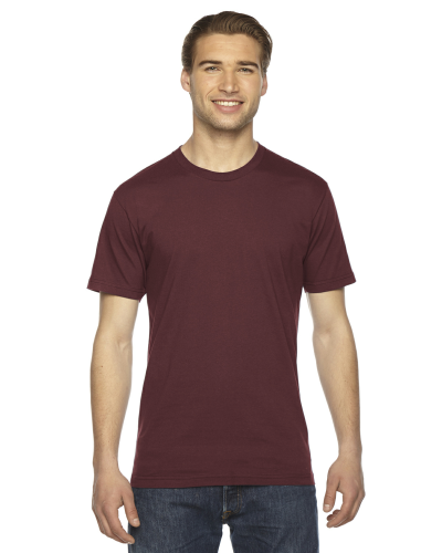 Truffle MADE IN USA Unisex Fine Jersey Short Sleeve T-Shirt as seen from the front
