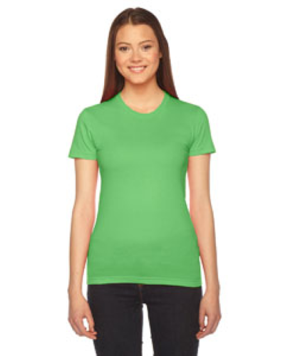 Grass MADE IN USA Ladies' Fine Jersey Short-Sleeve T-Shirt as seen from the front