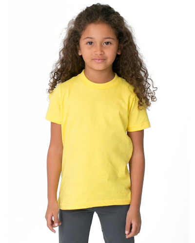 Sunshine MADE IN USA Toddler Fine Jersey Short-Sleeve T-Shirt as seen from the front