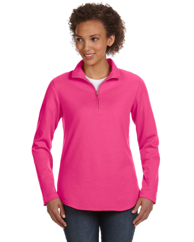 Ladies' Quarter-Zip Pullover