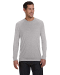Athletic Heather Unisex Lightweight Sweater as seen from the front