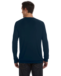 Midnight Unisex Lightweight Sweater as seen from the back
