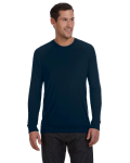 Midnight Unisex Lightweight Sweater as seen from the front