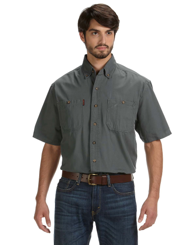 Men's Short-Sleeve Brick Workshirt