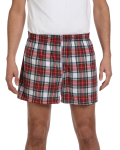 Dress Stewart Flannel Short as seen from the front