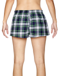 Dress Gordon Juniors' Flannel Short as seen from the back