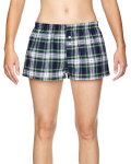 Dress Gordon Juniors' Flannel Short as seen from the front
