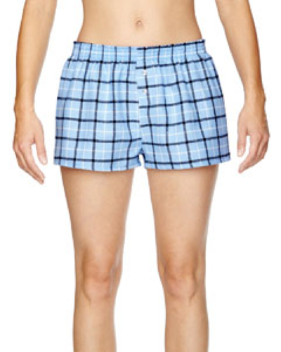 Juniors' Flannel Short
