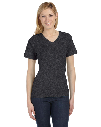 6405 Bella Relaxed Jersey V-Neck