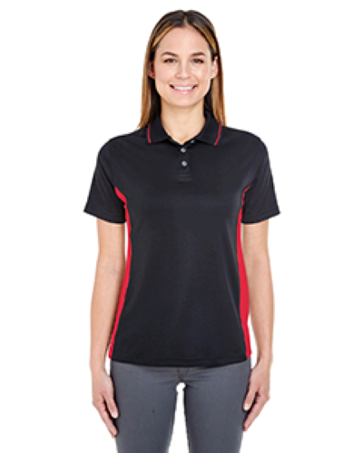 UltraClub Ladies' Cool & Dry Sport 2-Tone Polo