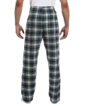 Dress Gordon Drawstring Flannel Pant as seen from the back