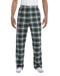 Dress Gordon Drawstring Flannel Pant as seen from the front