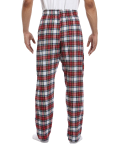 Dress Stewart Drawstring Flannel Pant as seen from the back