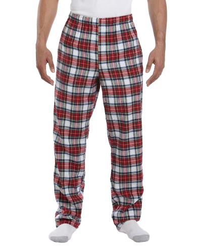Dress Stewart Drawstring Flannel Pant as seen from the front
