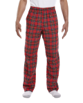 Royal Stewart Drawstring Flannel Pant as seen from the front